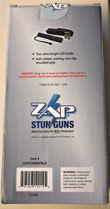 Zap Stick - Runners/Walkers 800,000 Volt Stun Device with Flashlight - BLACK