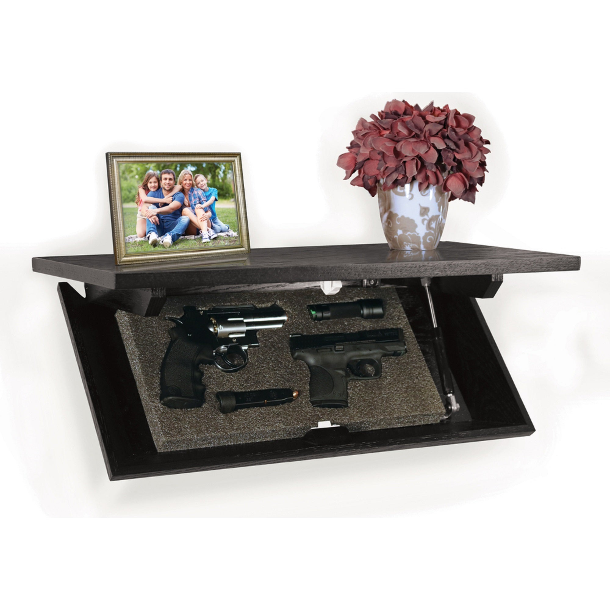 PS Products CC-24E Magnetic Locking Concealment Shelf 24