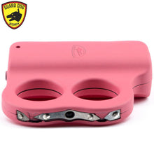 Rechargeable Guard Dog Dual LED Grip To Stun Gun With LED Flashlight - PINK