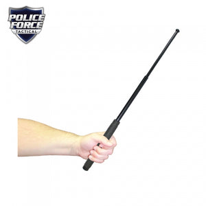 "Police Force 26"" Expandable Steel Baton With Holster"