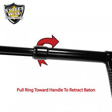 "Police Force 21"" Expandable Tonfa Baton With Holster"