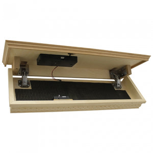 Quick Hidden Shelf Safe W/RFID Key Fast Access for Guns & Valuables - NATURAL