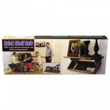 Quick Hidden Shelf Safe W/RFID Key Fast Access for Guns & Valuables - WHITE