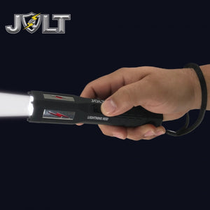 JOLT Tactical Lightning Rod 90,000,000 Volts Stun/Flashlight - Lifetime Warranty
