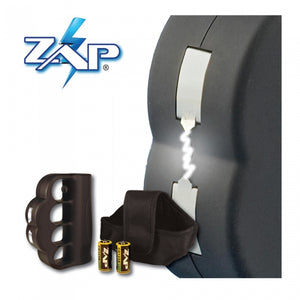 950,000 Volts ZAP Blast Knuckles - Brass Knuckle Design - BLACK