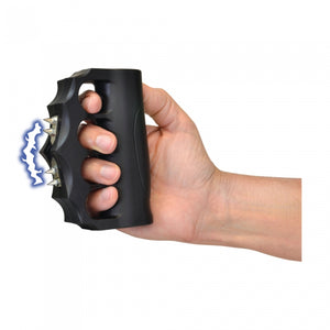 950,000 Volts ZAP Blast Knuckles Extreme - Brass Knuckle design