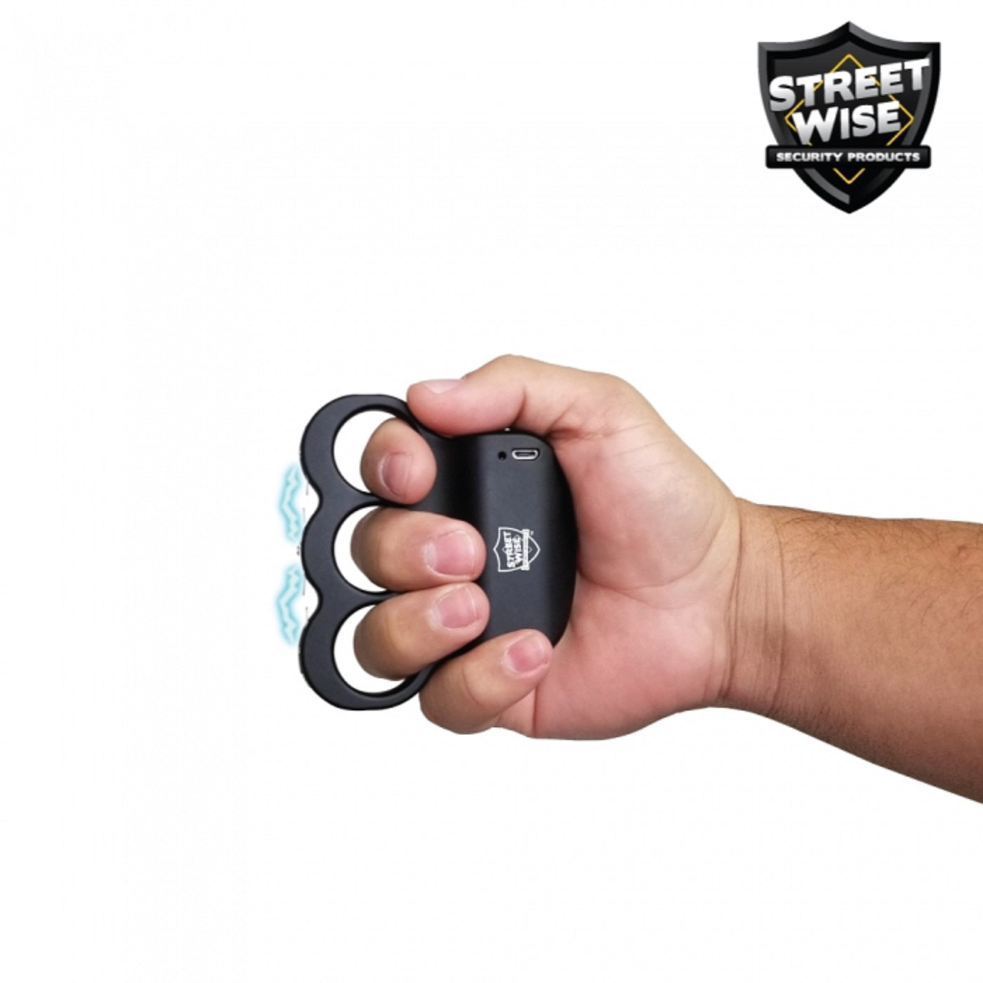 Streetwise Rechargeable TRIPLE Sting Ring 18,000,000 BLACK
