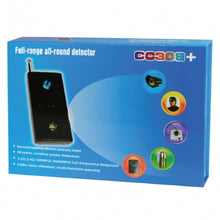 Full Range Camera and Bug Detector - Detects Wired Or Wireless Cameras And Bugs