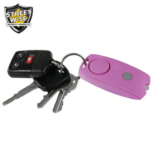 Pink Student Dorm Single Lady 4 Pieces Personal Security & Defense Kit - Basic