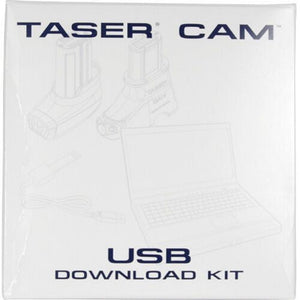 TASER Camera USB Data Port Download Kit Connects X2, X26C or X26P To Your PC USB Port