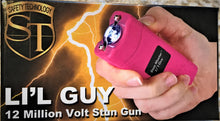 Stun Master L'il Guy 12,000,000 Mini LED Stun Gun - Pink