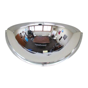 180 Degree Mirrored Blind Spot Safety Half-Dome Image