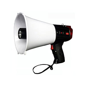 Emergency Megaphone with LED Emergency Light and Siren - 20 Watt Main Image