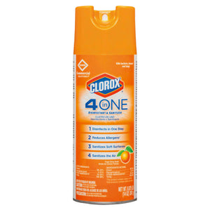4-in-One Disinfectant and Sanitizer Aerosol 14 oz. Image