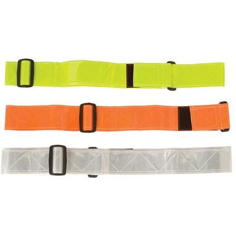 Reflective Waist Belts in Lime Green, Orange or White Image