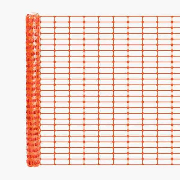 Crowd Control Safety Fencing - Orange Oriented - Main Image