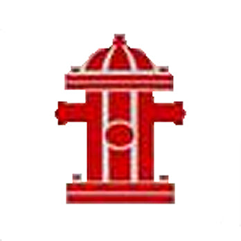 FH 800 eries American Fire Hydrant Marker Decal Red on White Background Image