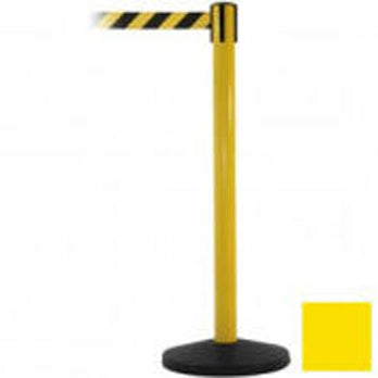 Hazard Belt Barricade Yellow and Black Striped Main Image