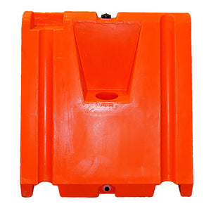 Heavy Duty Safety Barricade Wedge Orange Image