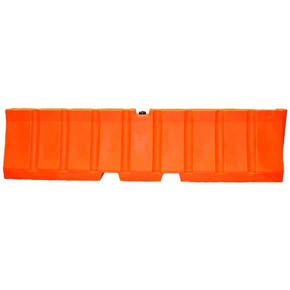 Jersey Safety Airport Barrier Orange 24 in. (T) x 96 in. (L) x 16 in. (W) Image (