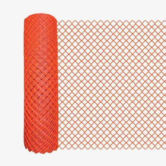Crowd Control Safety Fencing - Orange Diamond - Main Image