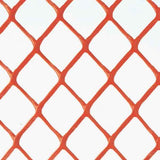 Crowd Control Safety Fencing - Orange Diamond - Detail image