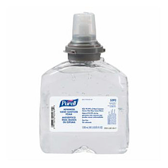 Purell Advanced Instant Hand Sanitizer Gel TFX Refill 1200 mL Image