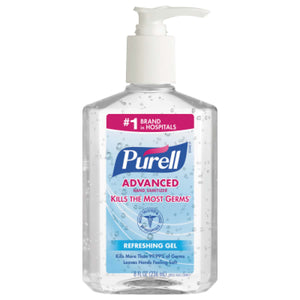 PURELL Advanced Instant Hand Sanitizer Gel Citrus - 8 oz. Pump Bottle Image
