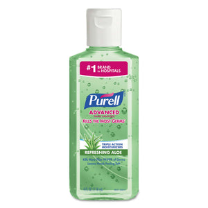 Purell Instant Hand Sanitizer with Aloe 4 oz. Squeeze Bottle Image