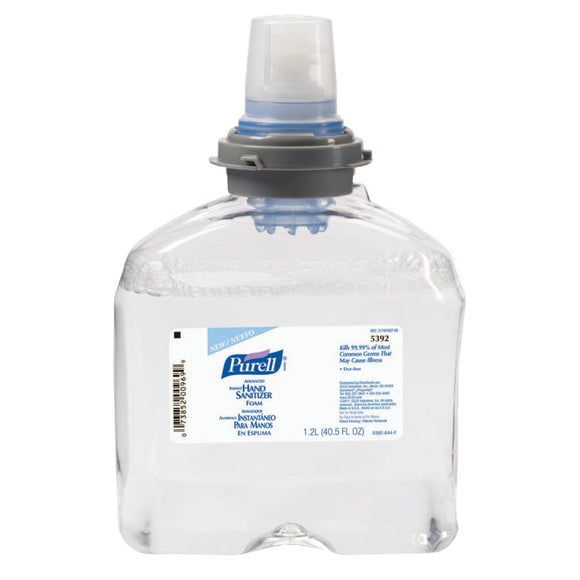 Purell Advanced Instant Hand Sanitizer Foam Fruity TFX 1200 mL Bottle Image