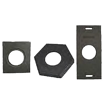 Recycled Rubber Bases in 10, 16 and 30 Pound Weights Imageweights