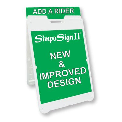 SimpoSign® II Sandwich Board Sign Stand