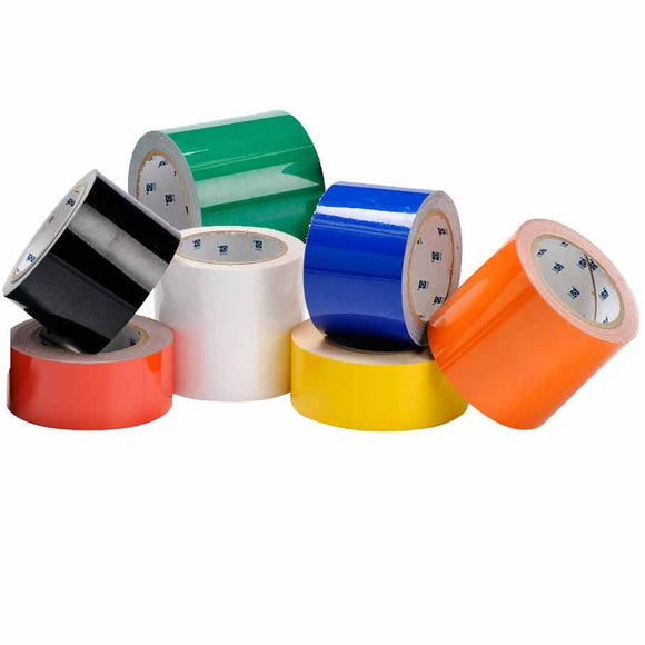 Solid Color Tough Stripe Tape Roll Multi Main Image