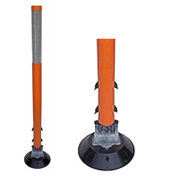 TM 750 Tubular Marker Orange with Close Up of Base Image