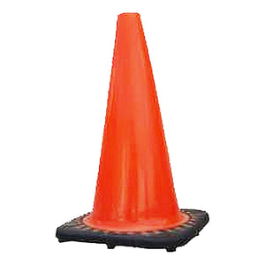 Traffic Safety Cone Orange 18 in. (W) No Collar Image