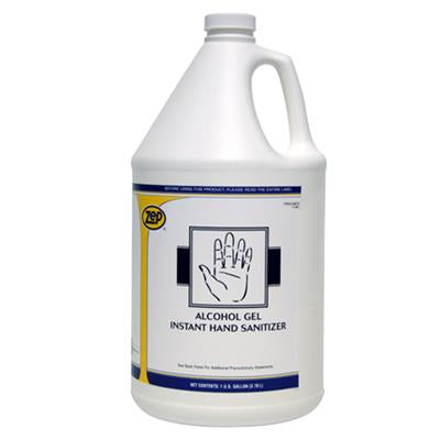 ZEP instant Hand Sanitizer Alcohol Gel 1 Gallon Size Image