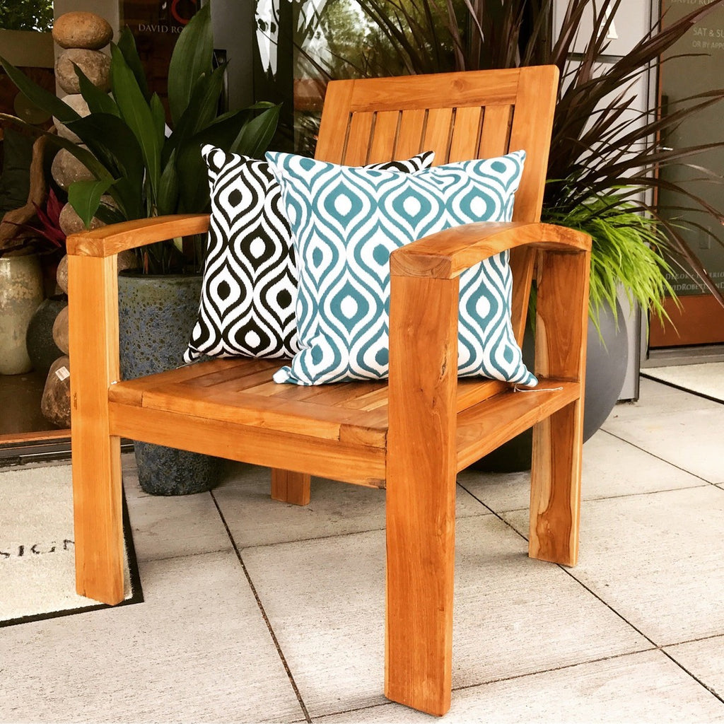 FU17001 - Teak Chair