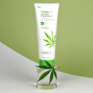 CannaCell® Botanical Shave Cream - ROSEMARY + LEMON BALM