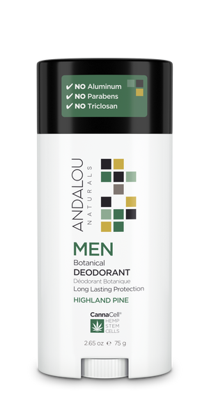 MEN Botanical Deodorant - HIGHLAND PINE