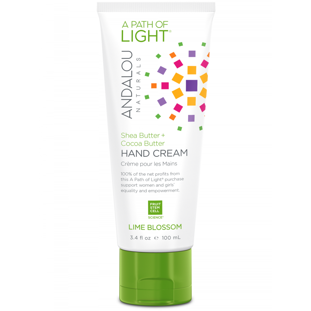 A Path of Light® Lime Blossom Hand Cream