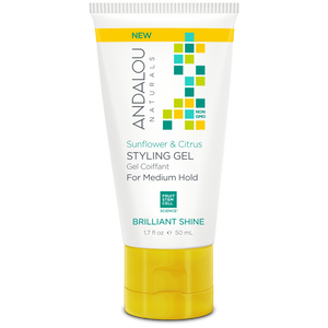 Sunflower & Citrus Brilliant Shine Styling Gel - 1.7 oz