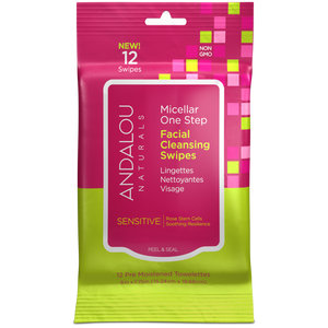 Sensitive Micellar Facial Swipes - B2G 12 ct