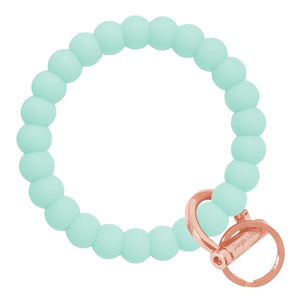 Bubble Inspired Bangle & Babe Bracelet Key Ring Bubble – Mint Rose Gold