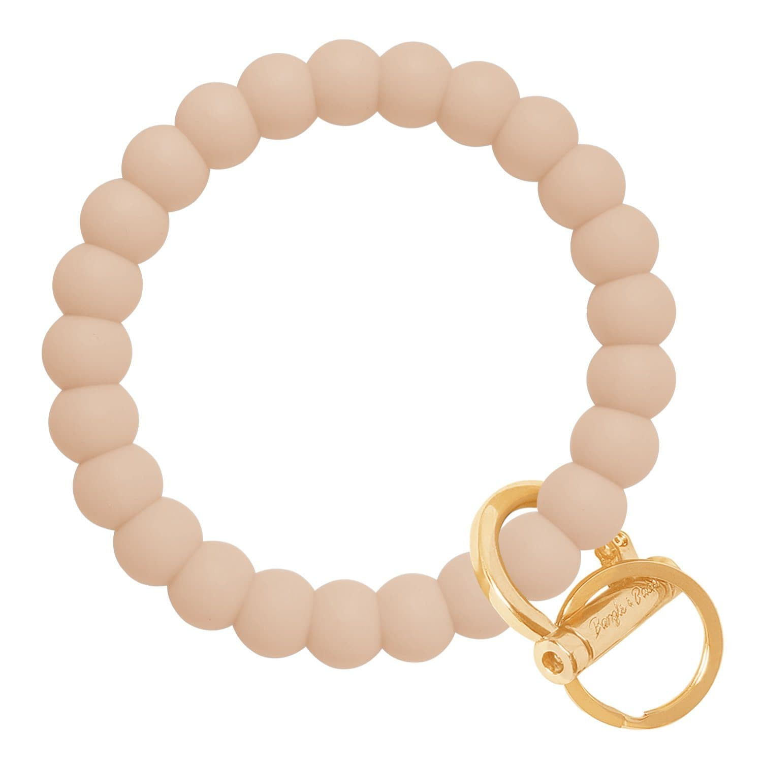Bubble Inspired Bangle & Babe Bracelet Key Ring Bubble - Oatmeal Gold