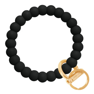 Bubble Inspired Bangle & Babe Bracelet Key Ring Bubble – Black Gold