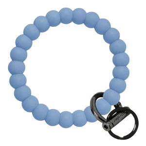 Bubble Inspired Bangle & Babe Bracelet Key Ring Bubble - Slate Blue Black