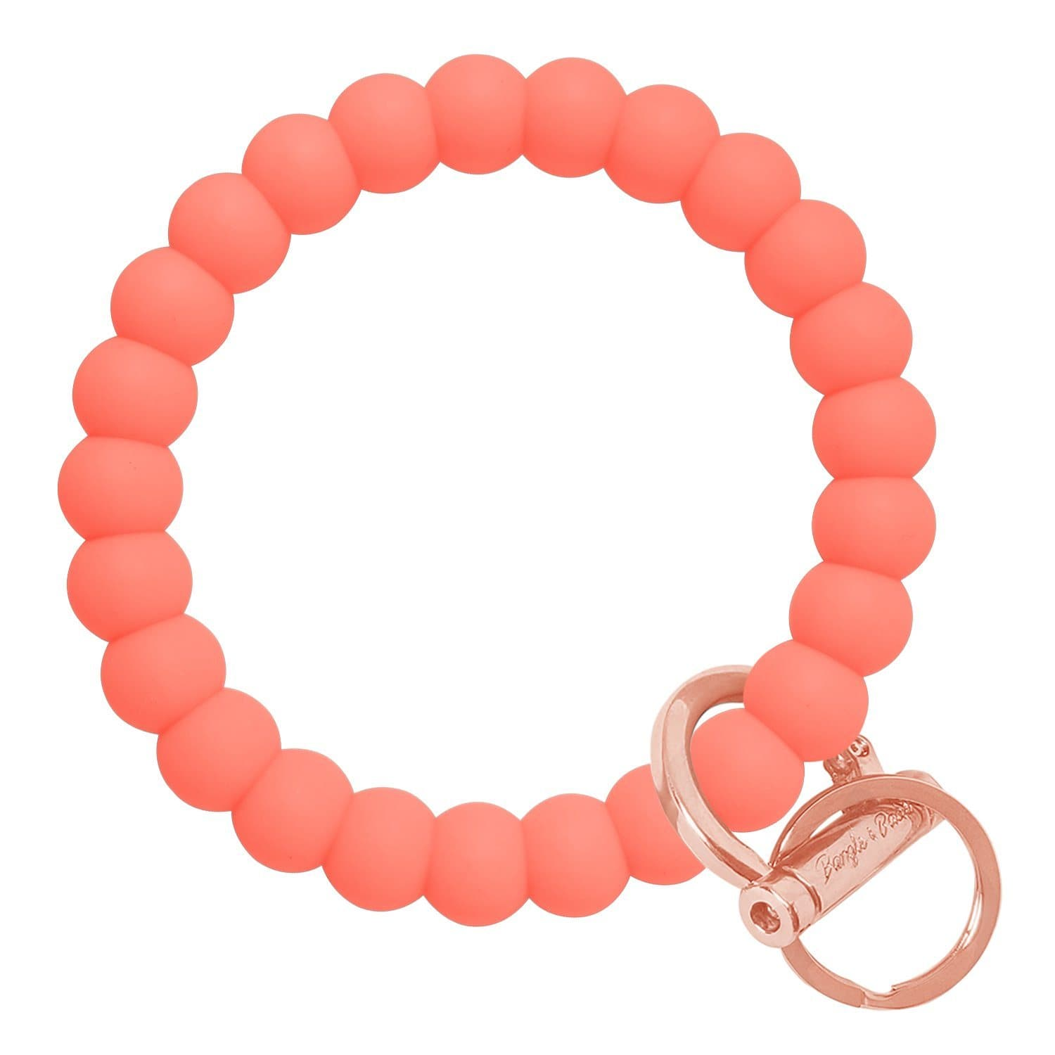 Bubble Inspired Bangle & Babe Bracelet Key Ring Bubble – Coral Rose Gold