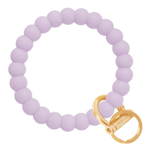 Bubble Inspired Bangle & Babe Bracelet Key Ring Bubble - Pastel Lilac Gold