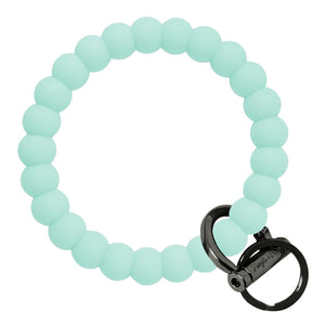 Bubble Inspired Bangle & Babe Bracelet Key Ring Bubble – Mint Black