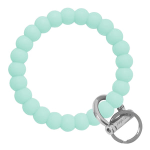 Bubble Inspired Bangle & Babe Bracelet Key Ring Bubble – Mint Silver